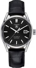 WAR211A.FC6180 | TAG HEUER CARRERA | BRAND NEW BLACK DIAL AUTOMATIC MENS WATCH
