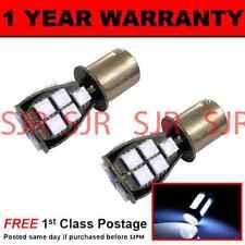 382 1156 BA15S Xenon bianca 18 SMD LED Anteriore Indicatore Lampadine X2 fi201202