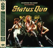 Whatever You Want: Essential Status Quo - Status Quo (2016, CD NEUF)3 DISC SET