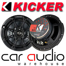 "Kicker KS65 6.5"" inch 17cm 390 Watts a Pair KS 2 Way Car Coaxial Door Speakers"