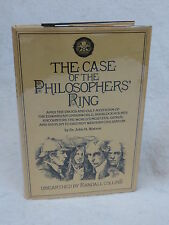 Dr. John H. Watson (Randall Collins) THE CASE OF THE PHILOSOPHERS' RING 1978 1st