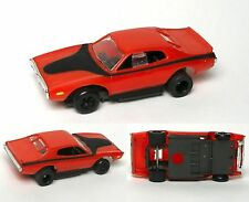 1992 TYCO CLASSICS 1973 Dodge Charger HO Slot Car BODY with Free Rolling Chassis
