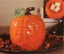 NEW ASHLAND ORANGE PUMPKIN ELECTRIC SCENT WAX WARMER HALLOWEEN THANKSGIVING 3 PC