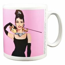Audrey Hepburn Taza Breakfast At Tiffany's Rosa