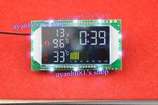 Digital Time Voltage Dual Temperature Display Module for Car interior/ wate tank