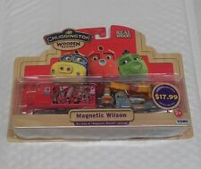 TOMY CHUGGINGTON WOODEN RAILWAY #56040 MAGNETIC WILSON NEW IN PACKAGE