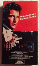 Breathless (Prev. Viewed VHS 1983) Richard Gere Valerie Kaprisky
