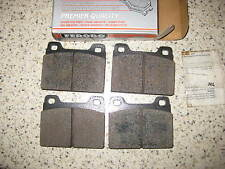 HIGH QUALITY FRONT BRAKE PADS - FITS: VOLVO 140 / 164 / 240 / 244 / 245 260 264
