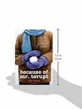 Because of Mr. Terupt by Rob Buyea, (Paperback), Yearling , New, Free Shipping