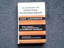 A HISTORY OF CAPITAL PUNISHMENT BY JOHN LAURENCE