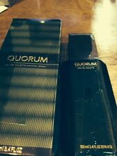 QUORUM by Antonio Puig Cologne 3.4 oz FREE SHIPPING NEW IN BOX