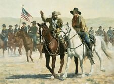 """Scout's report"" Don Stivers Limited Edition Giclee Print - US Cavalry"