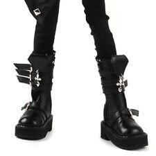 Dollmore 1/4 BJD Scale Size MSD - Storm Cross Boots (Black) shoes