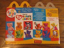 Ty Teenie Beanie Babies- McDonalds Happy 25th Birthday Empty Kids Meal Box- 2004