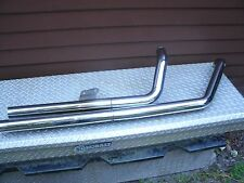 2005 Kawasaki Mean Streak 1600 Exhaust System, Straight Pipes