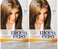 2 x CLAIROL NICE N EASY PERMANENT HAIR COLOUR 106D NATURAL DARK COOL BLONDE New