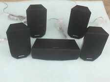 5 Piece Sony Surround Sound Speakers