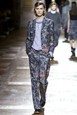 NEW  DRIES VAN NOTEN RUNWAY BALIMO FLOWER PRINT JACKET FR 36/ US 4