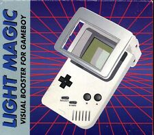 Brand New Light Magic Visual Booster for GameBoy (1st Generation) - White Color