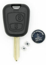 Fits Citroen Saxo Berlnigo Xsara Picasso etc 2 BUTTON REMOTE KEY repair kit