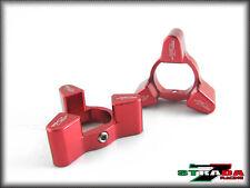 Strada 7 Racing 17x20mm Fork Pre-load Adjusters KAWASAKI ZRX1100/1200 Red