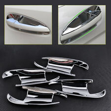 NEW 4x Chrome Door Handle Inserts Cup Bowl for Benz W166 ML350 X166 GL450 13-15