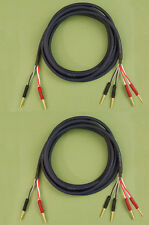 Straightwire Musicable II SC speaker cables 12' Internally Bi-wired pair NEW!