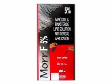 Morr-F 5% (Minoxidil/Finasteride) Hair Regrowth FDA approved DHT Blocker-60mL