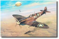 """Adding Insult to Injury"" by Roy Grinnell- & signed by 1st Lt. J.D. Collinsworth"