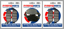 Triumph 800 Tiger XRX 2015 Front & Rear Brake Pads Full Set (3 Pairs)
