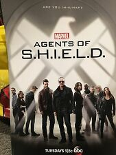 Marvel Agents of Shield Coulson Agent Carter Double Sided Poster NYCC 2015