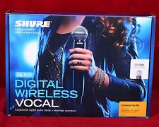 Shure GLX-D SM58 Digital Vocal Wireless Microphone 2400-2483.5MHz