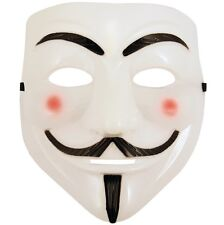 Halloween Anonymous V For Vendetta Kostüm Gesichtsmaske Guy Fawkes Neu