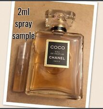 CHANEL COCO Sample Only AUTHENTIC 2ml Mini Parfum Travel Purse Perfume FRESH!