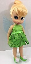 "Disney Animators Collection Tinker Bell Doll 16"" Shoes Wings"