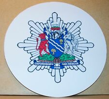Fire and Rescue Service Oxfordshire  vinyl sticker.