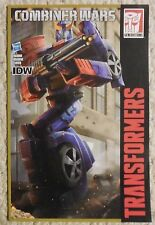 Transformers Combiner Wars IDW Generations SMOKESCREEN Comic Book