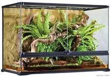 EXO Terra Glas-Terrarium Large Tall - 90 x 45 x 60 cm incl. Hintergrund