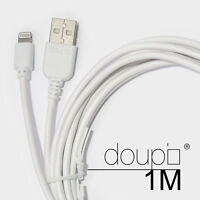 USB Lightning Daten Lade Kabel iPhone 6 6S Plus 5 5S 5C SE iPad iPod Weiß 1m