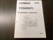 Yamaha FZS 600 FZS600 (P) 2002 Assembly Manual Montageanleitung