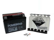 Batterie MF Poweroad YTX4L-BS Kymco Dink 50 LC Bet & Win S80010 Bj. 2004-2007
