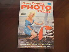 Vtg Bunny Yeager's Photo Studies Magazine Bettie Page Diane Webber Girl Pin-up