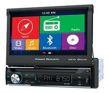 "NEW Power Acoustik PDN-726B DVD/CD Player 7"" LCD GPS Navigation Bluetooth USB"