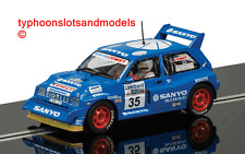SCALEXTRIC C3639 MG Metro 6R4 - No.35 - Willie Rutherford - New & Boxed