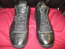 AND1 Mens Basketball Shoes, Leather Upper Balance, Sz 11, Black w/White Letters
