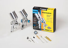 DEVILBISS Spray Paint Gun Kit 802343 HVLP 2 FULL SIZE Guns NEW!