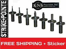 KNS Precision Inc 7 Pk Steel Front Sight Post Body Assortment Replacement Kit