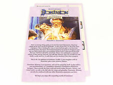 Dominion Alchemy Replacement Original Game Rules Instruction Booklet