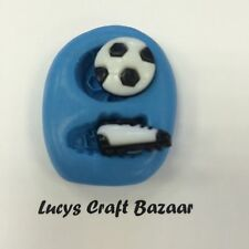 Silicone Mould Mini Football & Boot Sugarcraft Fondant Icing Jewellery Cake Pop