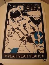 Yeah Yeah Yeahs band poster print